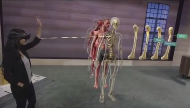 Realidad Virtual formación anatomía