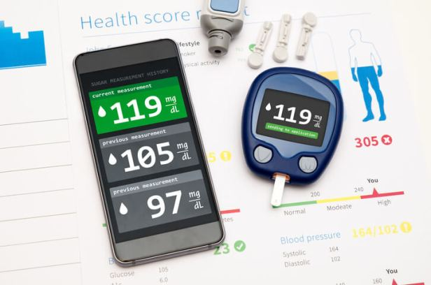 sensor mhealth diabetes